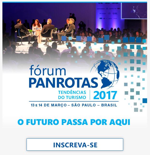 Garanta o seu lugar no Fórum PANROTAS 2017 - INSCREVA-SE