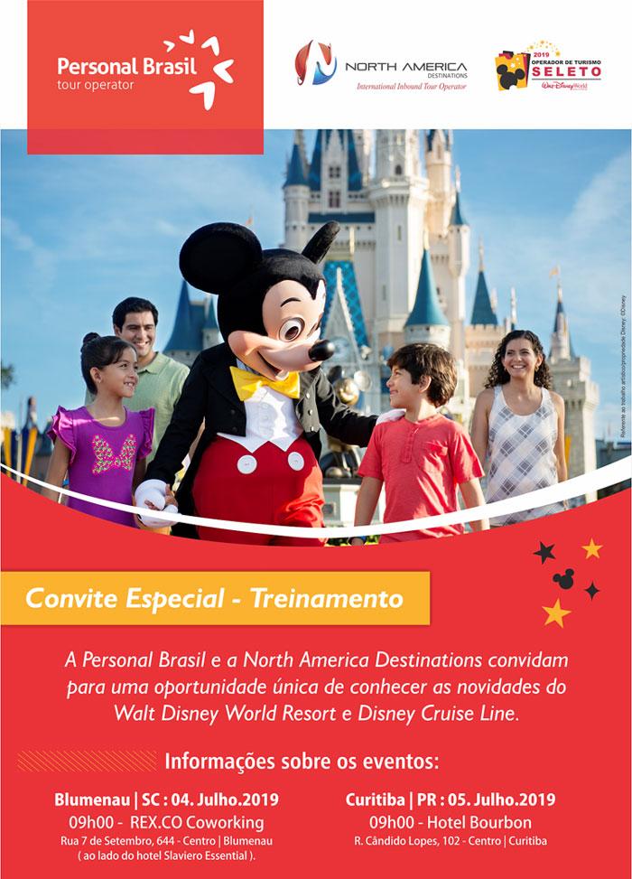 Café da manhã com Personal Brasil & NAD | Walt Disney World Resorts e Disney Cruise Line