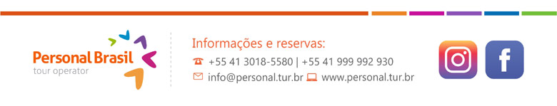 PERSONAL BRASIL TOUR OPERATOR - www.personal.tur.br