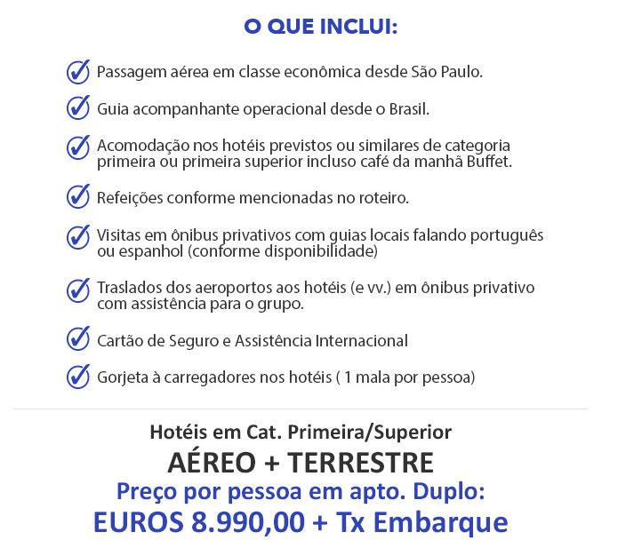 O QUE ESTÁ INCLUSO   |   DETALHES QUE FAZEM A DIFERENÇA - PRIMORDIAL OPERADORA E TURISMO - www.primordialoperadora.com.br