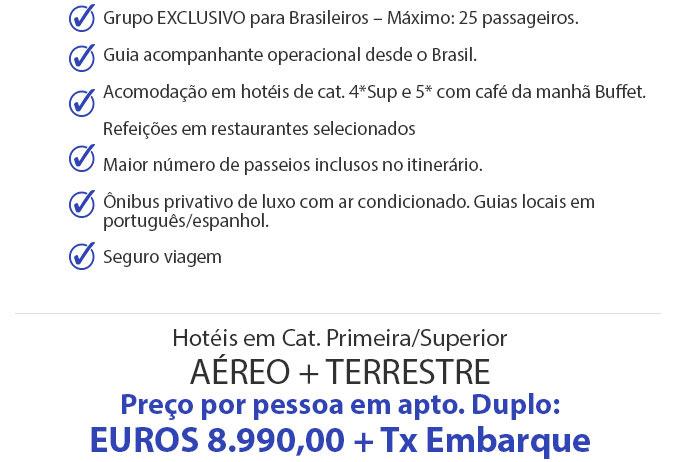 VEJA MAIS DETALHES DESTE PACOTE  |  PRIMORDIAL OPERADORA E TURISMO  |  http://primordialoperadora.com.br