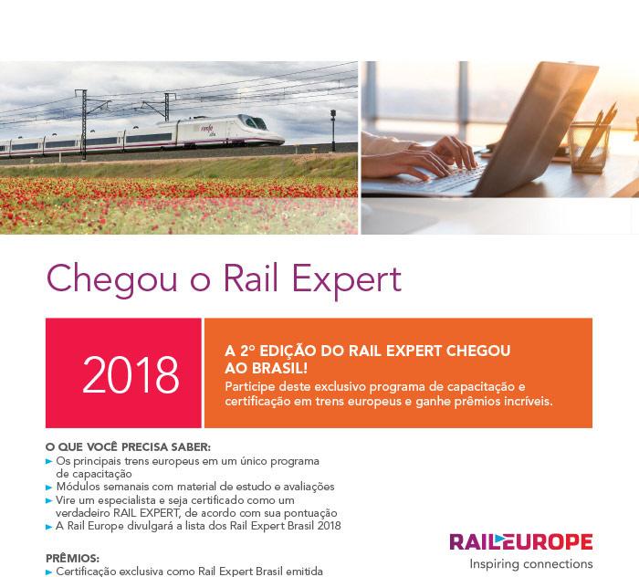 RAIL EUROPE - CADASTRE-SE AGORA!   Torne-se um especialista em trens europeus! #RailEurope