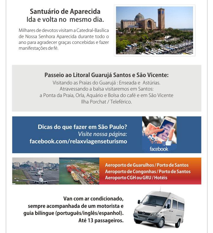 CAMPOS DO JORDÃO, SANTUÁRIO DE APARECIDA  |  RELAX TURISMO RECEPTIVO  -  Atendimento de Alto-nível em São Paulo - City Tour, Transfers Aeroportos, Litoral