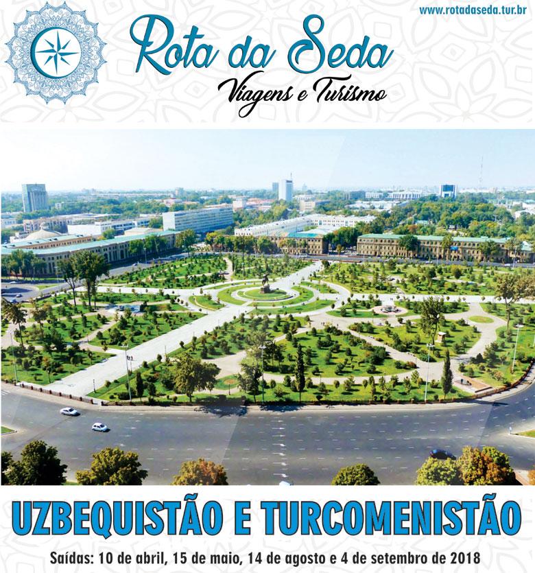 Roteiro surpreendente pela Rota da Seda, visitando Uzbequistão e Turcomenistão - ROTA DA SEDA VIAGENS E TURISMO  -  www.rotadaseda.tur.br