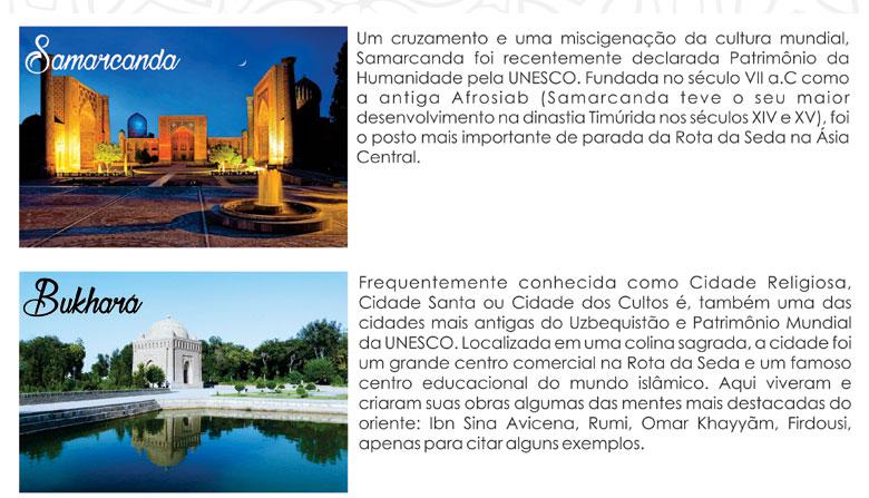 CONHEÇA O TOUR COMPLETO  |  ROTA DA SEDA - www.rotadaseda.tur.br