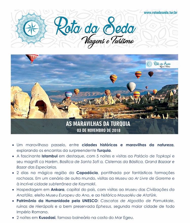 AS MARAVILHAS DA TURQUIA - ROTA DA SEDA VIAGENS E TURISMO  -  www.rotadaseda.tur.br