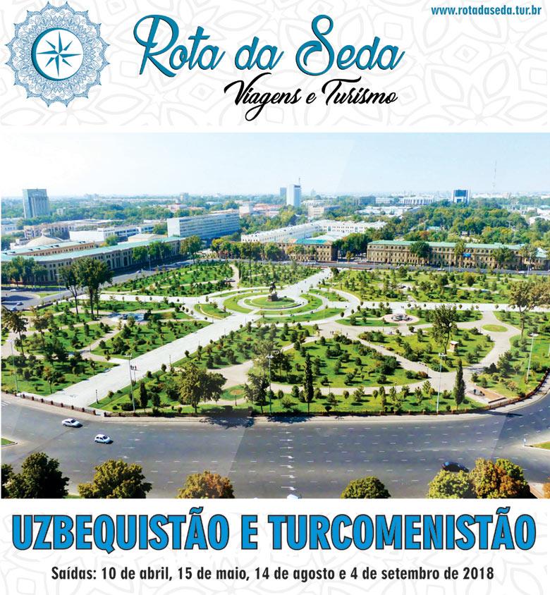 UZBEQUISTÃO e TURCOMENISTÃO - ROTA DA SEDA VIAGENS E TURISMO  -  www.rotadaseda.tur.br