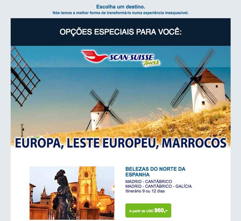 EUROPA, LESTE EUROPEU E MARROCOS  |  SCAN SUISSE VIAGENS E TURISMO
