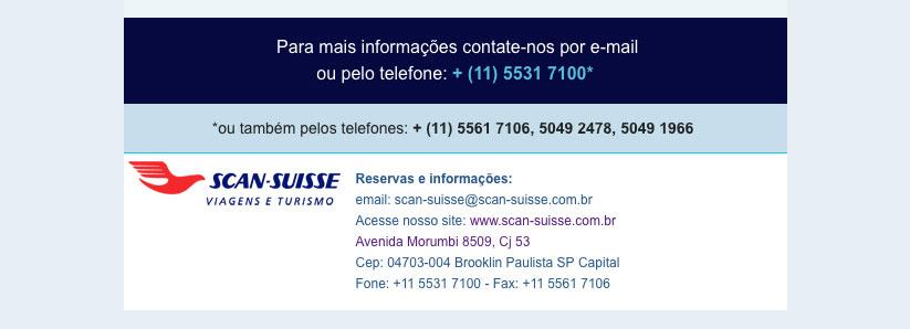 SCAN SUISSE OPERADORA - CONTATO  |  scan-suisse@scan-suisse.com.br