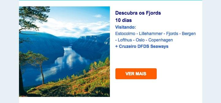 Descubra os Fjords