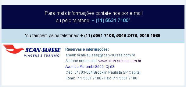 CONTATO POR E-MAIL: scan-suisse@scan-suisse.com.br   -   SCAN SUISSE OPERADORA