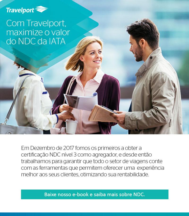 Com Travelport, maximize o valor do NDC da IATA