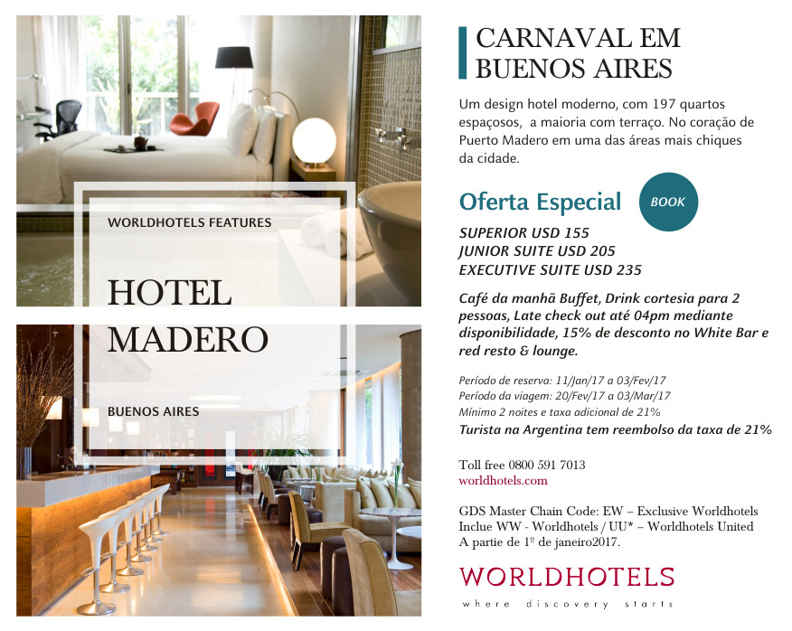 WORLDHOTELS | OFERTA ESPECIAL - BOOK